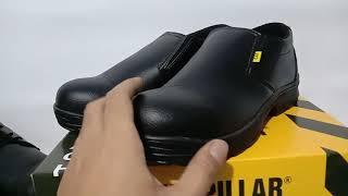 Sepatu Safety Caterpillar Size 39-43. Sepatu Boots. Sepatu Proyek. Sepatu Lapangan. Sepatu Safety Kulit Premium