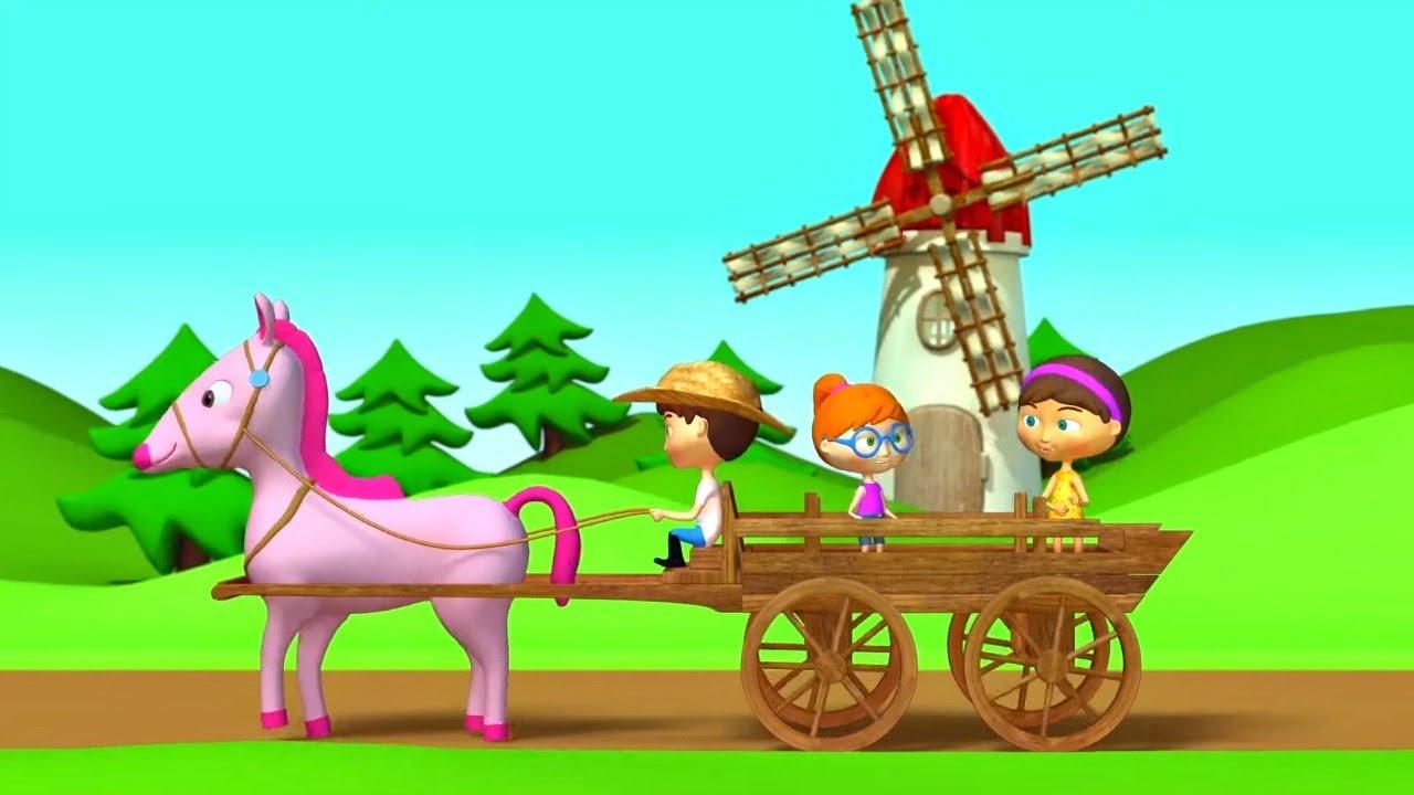 Спокойная песенка про лошадку и Колыбельные для малышей. Сборник музыкальных мультиков