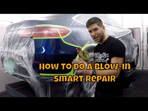 How To Do A Blow In/smart Repair