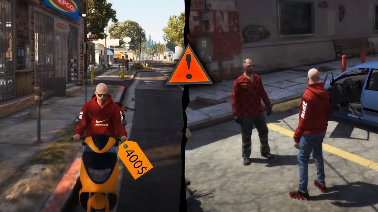 Am vandut un scuter FURAT! - FiveM