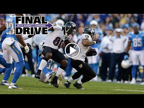 When Weddle Got Blown Up By Boldin | Final Drive | Baltimore Ravens