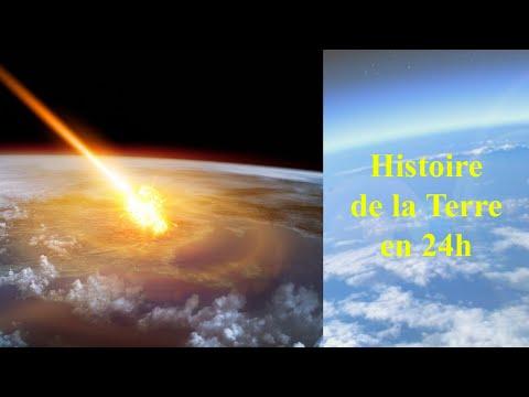 Histoire de la Terre en 24h