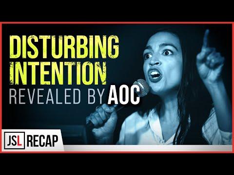 Disturbing Intention Revealed by Alexandria Ocasio-Cortez
