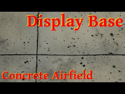 Display Base - Concrete Airfield