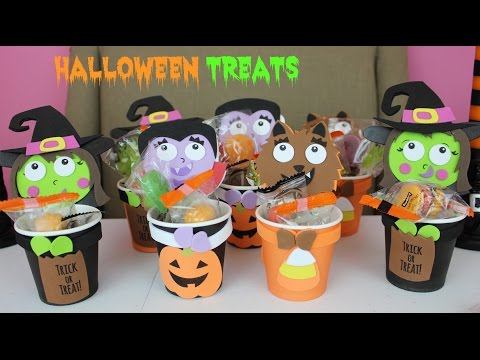 Halloween Treats DIY Halloween Crafts Goodie Bags Filled with CandyB2cutecupcakes