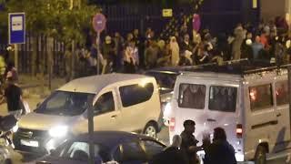 Avalancha de porteadoras intentan pasar la frontera de Ceuta