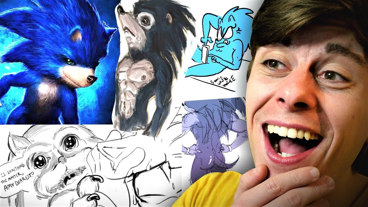 a look at the HILARIOUS SONIC MOVIE MEMES... - YouTube