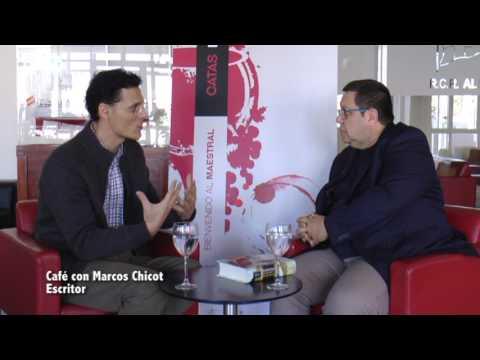 Café con... Marcos Chicot, escritor