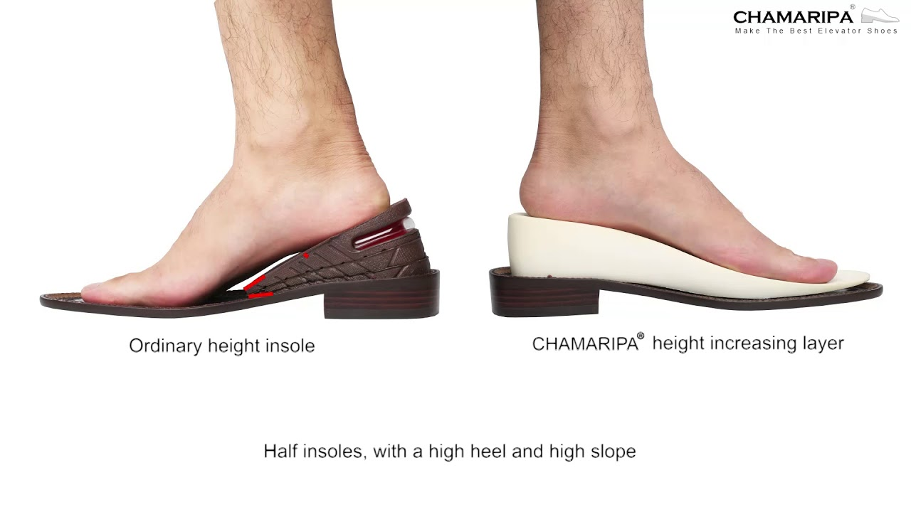 Add Height Insoles or Elevator Shoes   Read Review Here! - YouTube b47fdaff6521