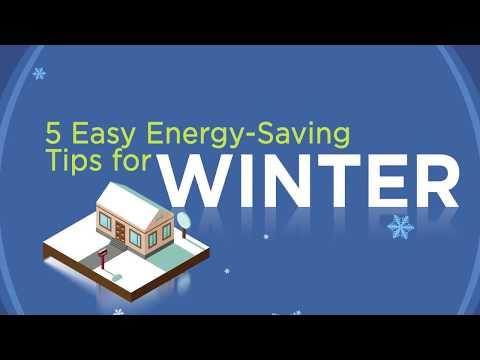 5 Winter Energy-Saving Tips