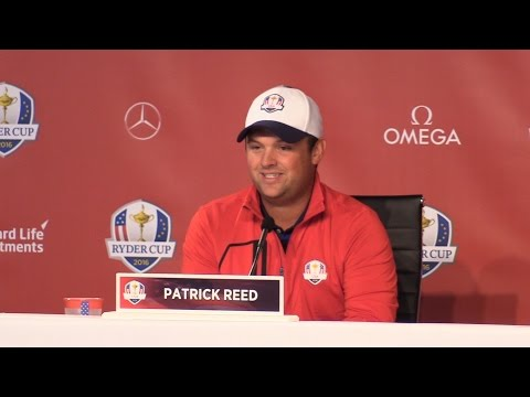 Ryder Cup - Patrick Reed Press Conference - YouTube