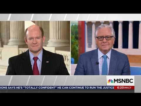 Senator Coons joins Hardball with Chris Matthews July 20, 2017