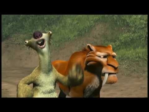 Ice Age 2 - Crossing The Steam Field clip