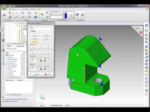 WorkXplore  - Creating Axis Systems Создание системы координат