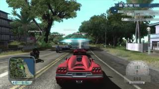 Test Drive Unlimited Gameplay (Free Roam, Race, Buying and Painting a Car, Easy Money)- Xbox 360