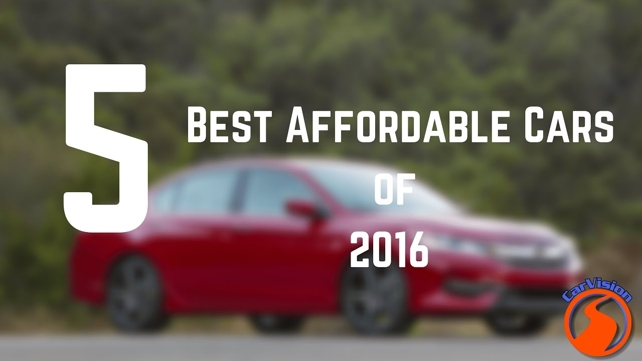 Best New Cars Under 25k 2016