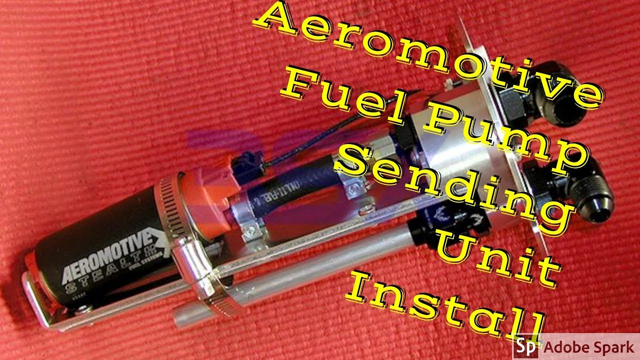 82-92 Camaro New Aeromotive Fuel Pump and Sending Unit Install
