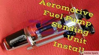 82-92 Camaro New Aeromotive Fuel Pump and Sending Unit Install