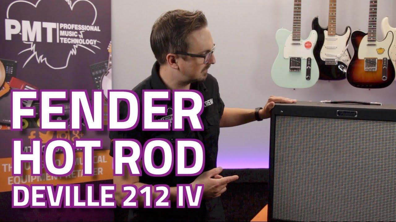 fender hot rod deville 212 iv valve combo review demo youtube. Black Bedroom Furniture Sets. Home Design Ideas