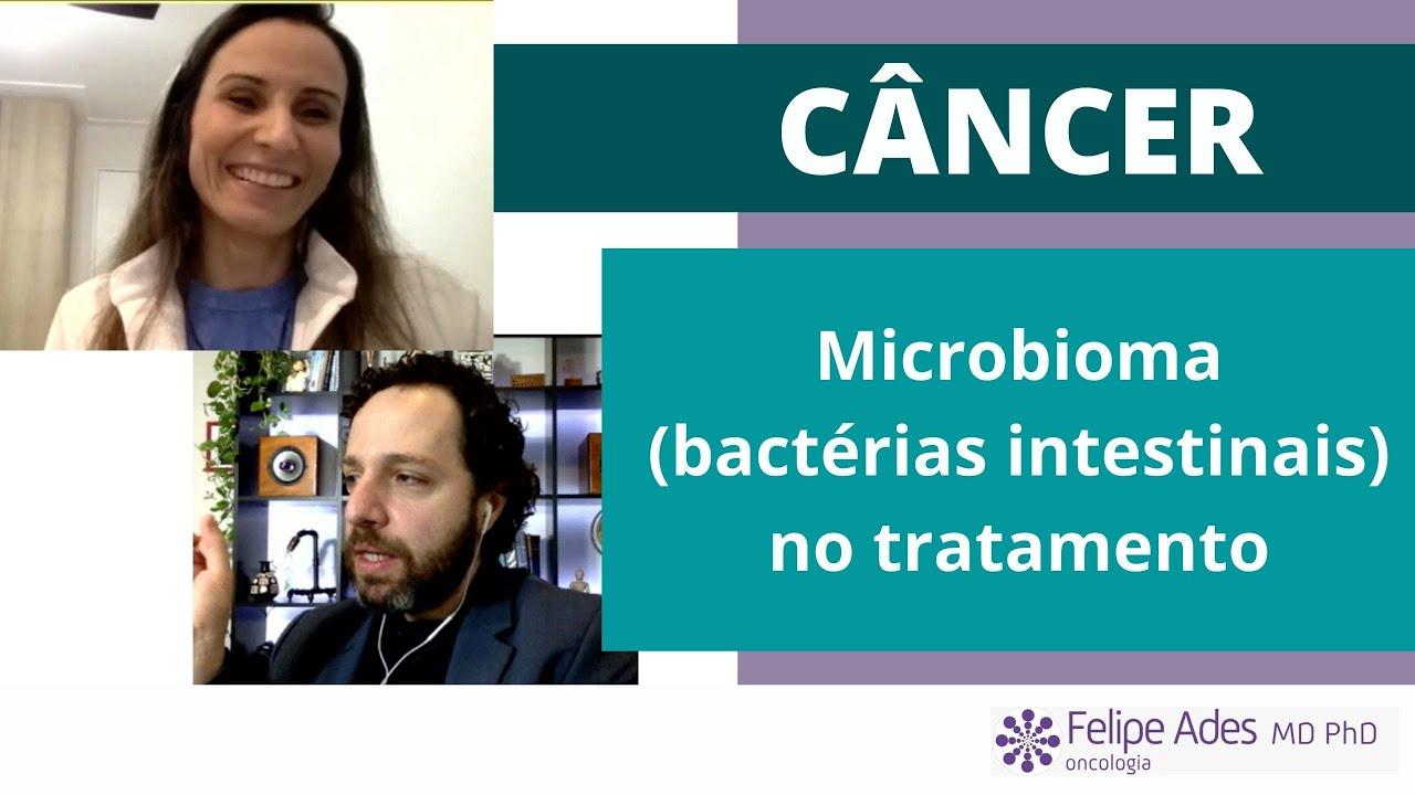 MICROBIOMA no tratamento do câncer