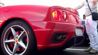 3 People in a Ferrari 360 Spider: it's possible!