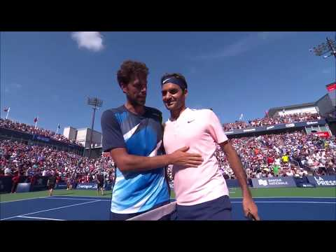 Roger Federer tops Robin Haase to reach the final in Montreal