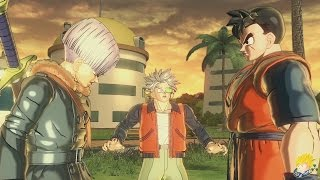 Dragon Ball XENOVERSE 2 - [Secret Alternative Ending] Future Gohan Vs Androids【60FPS 1080P】