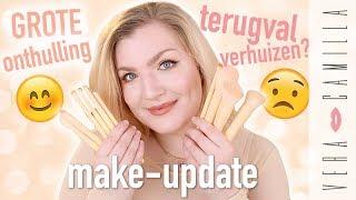 MIJN EIGEN KWASTENSET!!! + PERSOONLIJKE UPDATE | Make-update | Vera Camilla