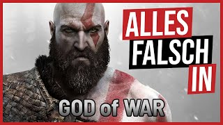 Alles falsch in God of War 🛎️ GameSünden [Satire]