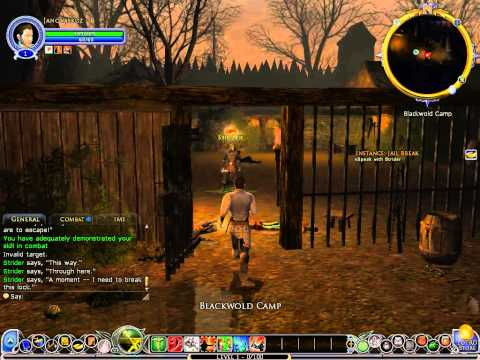 The Lord of the Rings Online gameplay cz (první pohled)