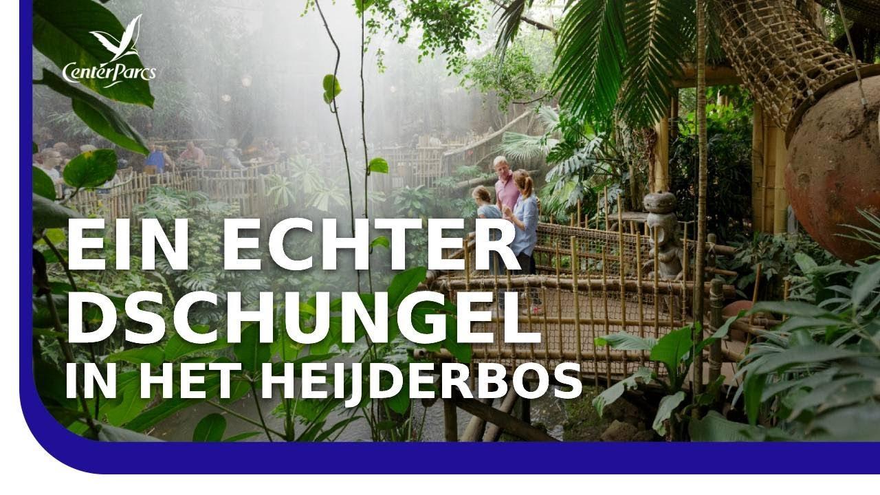 Center Parcs Het Heijderbos - Sommerlicher Urlaub in Holland am Wasser