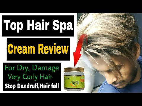 Best Hair Spa Cream For Dry Damage Curly Hair | Indus valley Ultima Hair Spa Honest Review🔥