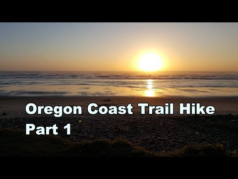 Oregon Coast Trail Hike Part 1
