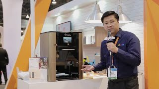 XYZprinting Food Printer At CES 2015