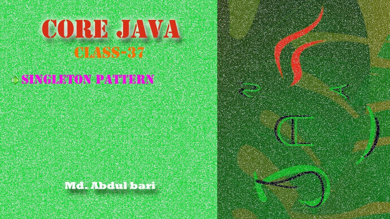 Core java bangla tutorialsingleton pattern class 37 youtube core java bangla tutorialsingleton pattern class 37 baditri Images