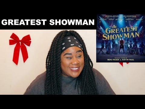 The Greatest Showman Soundtrack Album...