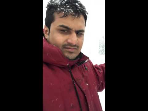 Snow fall,Gulmarg,Srinagar/Kashmir,India 2016