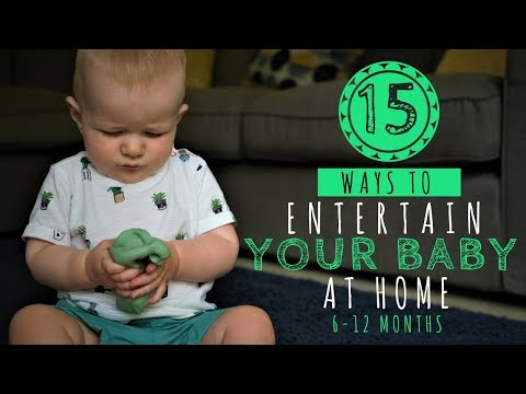 How to Entertain Your Baby at Home | INDOOR BABY ACTIVITIES