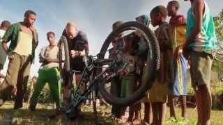 Adventurous cross country mountain biking in Ethiopia