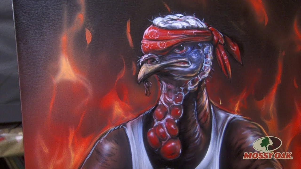 Killer Paint Mossy Oak Turkey Thug Youtube
