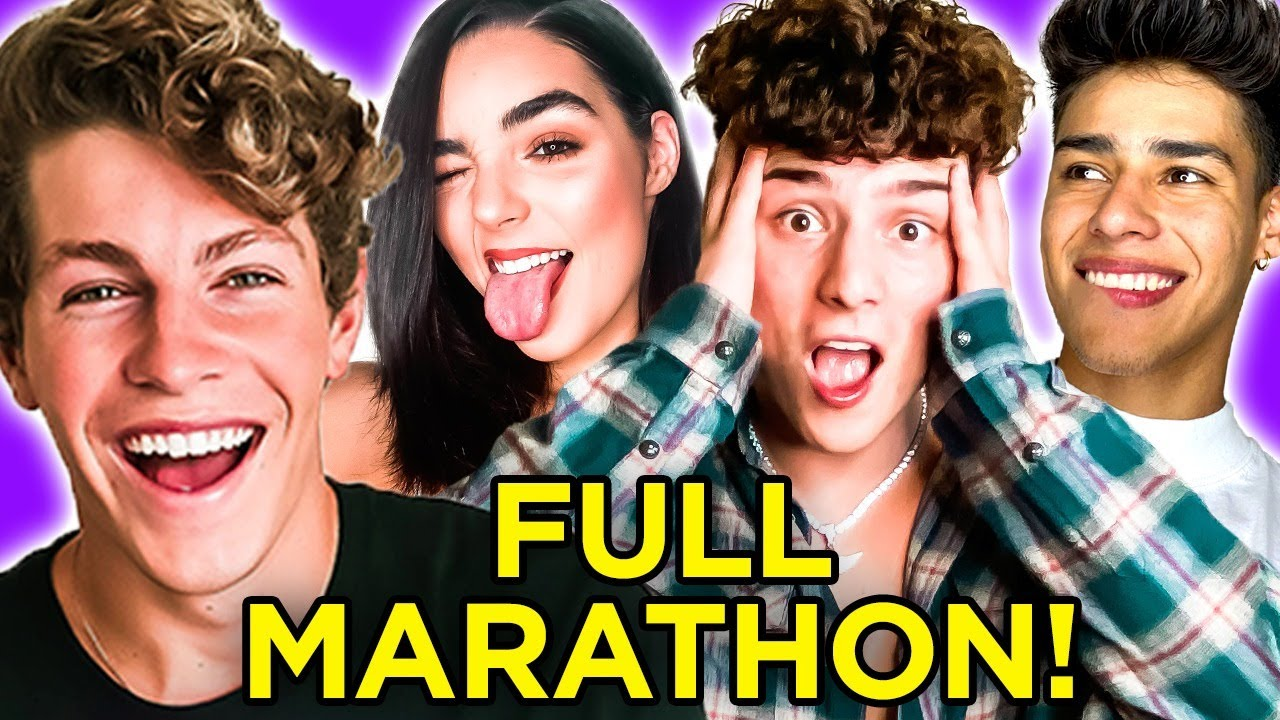 Blind Date with 6 PEOPLE?! DATE DROP Marathon w/ Ben Azelart, Tony Lopez, Andrew Davila, & MORE!