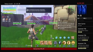 PS4 live broadcast of hassadi976 come on mom live Fortnite save the world