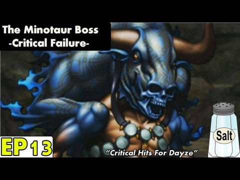 Shin Megami Tensei IV Playthrough pt 13: The Minotaur Boss -Critical All day Every day-