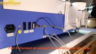 ChinaCNCzone SL-320 New 40w co2 Laser Engraving Cutting Machine Brief Introduction