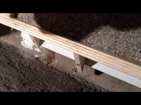 My own version of concrete vibrator for cnc epoxy granite
