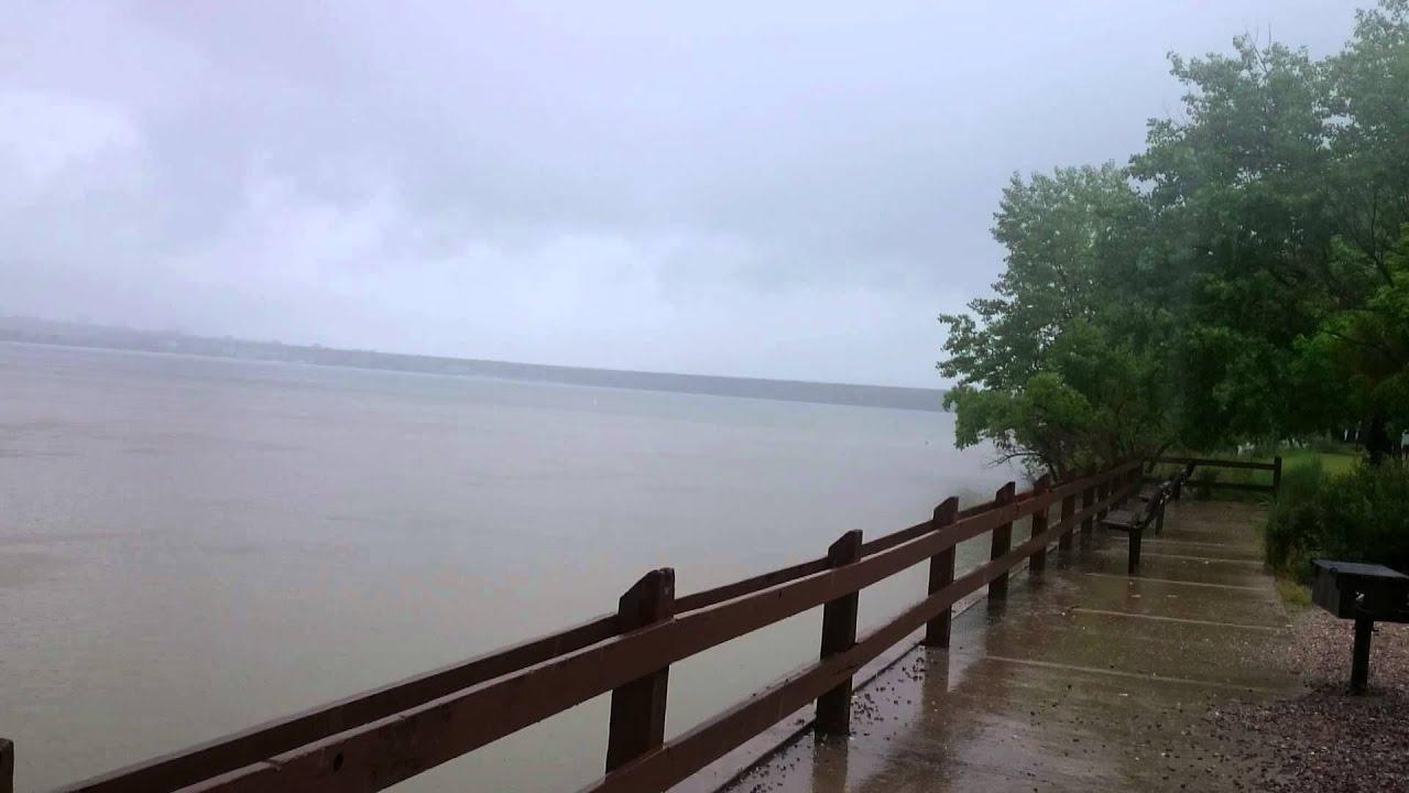 Cherry Creek Reservoir Rain 6-12-15