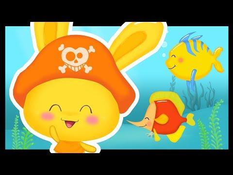 Les petits poissons dans l'eau - Les pirates - Titounis