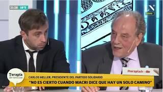 26-03-2019 - Carlos Heller en LN+ Terapia de Noticias – Debate con Federico Furiase #Economía