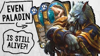 EVEN PALADIN IS STILL ALIVE?! With Dragons?! | Standard Constructed | Hearthstone