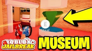 🔴 Roblox Jailbreak NEW DINOSAUR MUSEUM ROBBERY! NEW UPDATE TONIGHT!? | New Car, New Museum, & More!